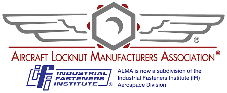 Aircraft Locknut Manufacturers Association® Logo